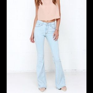 LAUNDRY | Boho Flare Jeans Light Wash Bell Bottoms
